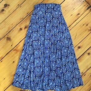Brinley Printed Maxi Skirt